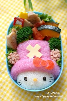 How can I eat Hello Kitty disguising as Chopper? Kawaii! ^^