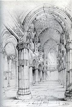 [A3N] : Roslin Chapel / John Ruskin