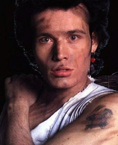 Adam Ant. He looks a little..uh...dirty. lol