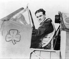 """Graham O'Reilly  Mar 2015 DYK-Dubliner Brendan """"Paddy"""" Finucane became the youngest wing commander of the RAF during Battle of Britain age 21 Flying Ace, Fear Of Flying, Aviation Theme, Aviation Fuel, Irish Culture, Supermarine Spitfire, O Reilly, Battle Of Britain, Fighter Pilot"""