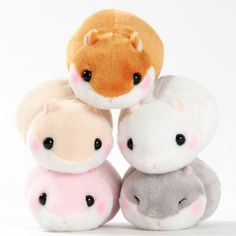 The adorable little Coroham Coron Mocchiri Plushies are perfect for all hamster lovers, and provide a gentle and cuddly experience that might even be better than what actual hamsters can offer! The standard version of these precious hamster plushies are just like real life-sized hamsters but even cuter. Bring home the standard size Coroham plushie and give your hamster a best friend, or give your ...