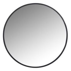 Round Black Metal Mirror on Maisons du Monde. Take your pick from our furniture and accessories and be inspired! Black Round Mirror, Round Mirrors, Build Your Own House, Metal Mirror, Mirror Mirror, Downstairs Bathroom, Black Metal, Metallica, Furniture