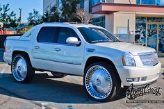 We Offer Fitment Guarantee on Our Rims For Cadillac Escalade. All Cadillac Escalade Rims For Sale Ship Free with Fast & Easy Returns, Shop Now. Custom Trucks, Custom Cars, Classic Trucks, Classic Cars, Avalanche Truck, Pimped Out Cars, West Coast Customs, Cadillac Escalade, Escalade Ext
