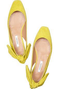 Carven - Flat summer shoes.