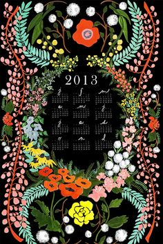 Save the date with these cool 2013 calendars