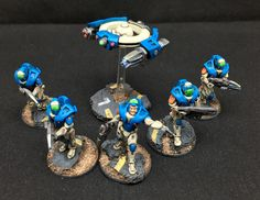 Concord Strike Squad and Light Support Drone