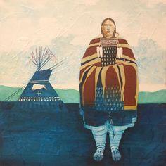 Wright Ben White Buffalo Woman | Goldenstein Gallery, Sedona