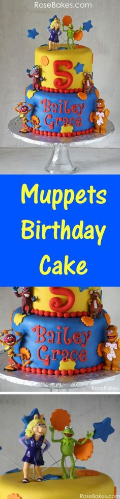 Muppets Birthday Cak