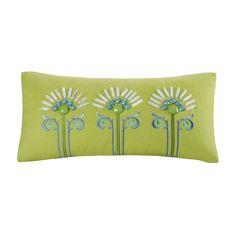 "Echo Sardinia Oblong Decorative Pillow, 9"" x 18"""