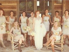 mother of brides dresses with boots | mother of the bride dresses with cowboy boots