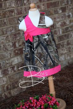 Girls camo dress....realtree