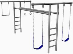 Kids Playground Monkey Bars with Gymnastics Bar in 2019