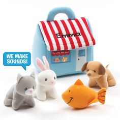 Make this My First Pet Shop Playset a personalized gift for a special child!