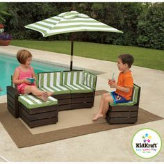 Costco: KidKraft Backyard Youth Sectional
