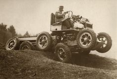 All terrain car, England, 1936 - via @dmullinnex