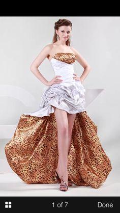 Dress option for Vegas wedding