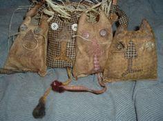 primitive kitties pattern...