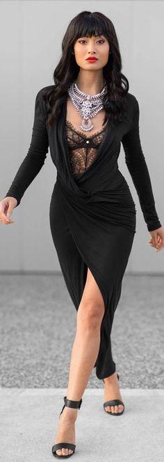 Dress by @michaelmavenofficial   / Fashion By Micah Gianneli