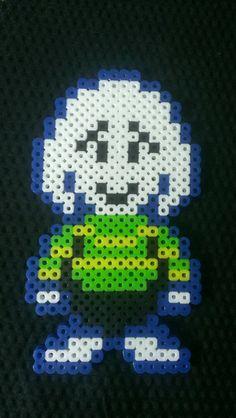 Undertale Asriel pixel art bead sprite by MelParadise on Etsy