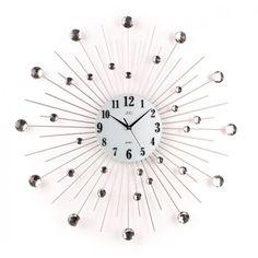 Nástenné dizajnové hodiny JVD HJ20 Krystal 70cm, nastenne hodiny, na stenu, dekoracie do bytu, dizajn