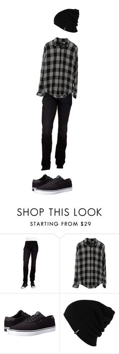"""""""Untitled #1"""" by fruitloopsweirdo ❤ liked on Polyvore featuring Hudson Jeans, Lakai, Patagonia, men's fashion and menswear"""