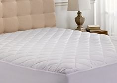 Hanna Kay Hypoallergenic Quilted Stretch-to-Fit Mattress Pad, 10 Year Warranty-Clyne Collection (Twin) Mattress Pad Queen, Heated Mattress Pad, Toddler Bed Mattress, Best Mattress, Mattress Covers, Mattress Protector, Home Design, Hanna, Memory Foam Mattress Topper