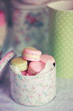 macarons gift tin