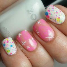 maeflowernails #nail #nails #nailart  | See more nail designs at http://www.nailsss.com/acrylic-nails-ideas/2/