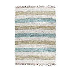 Carpet By Boo Jute Natural Green/Blue