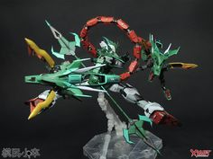 P-Bandai Exclusive: MG 1/100 Gundam Altron - Customized Build     Modeled by 模民小卒