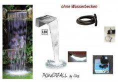Cilios Powerfall Powerfall Wasserfall Set Eco 30cm anschlussfertig inkl. Pumpe…