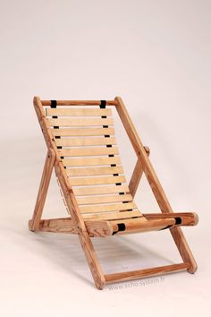 Pallet Wood & Bed Slats Upcycled into Comfortable Chair Recycled Furniture Recycled Pallets Source by thekylesfamily