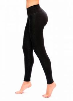 f762459928c Women black with pockets Casual Leggings with slim and tone control by Bon  Bon Up - 1062