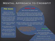 Mental Approach to CrossFit....#crossfit #wodlove