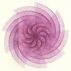 artstormer, pen and ink, math, parametric drawings, artist, mandelas, spirograph,