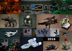 Hey guys, here's my end of year collage, I think 2016 was my favorite year so far Lego-wise. I don't think I would actually be able to choose a favorite build. I would also like to thanks everyone for taking interest in my stuff and taking the time to comment and favorite, it really means a lot, and brings me joy every time I scroll through my stream. Four of the builds here have over 200 favorites and two of those have over 300 with over 30 comments. I also hit 1.4 k followers this y...