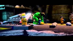 Lego Marvel Super Heroes running on PS4