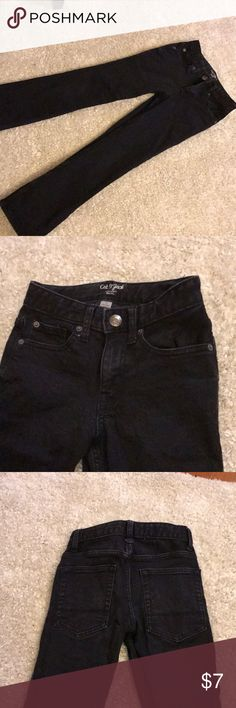 Cat & Jack black denim Straight legged. Excellent condition! Comes from smoke free, pet free home. Shipping days are Tuesday through Friday. cat & jack Bottoms Jeans