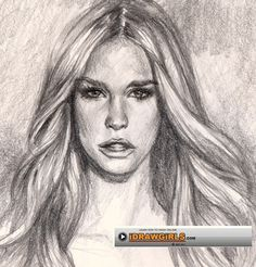 How to draw hair | drawing and digital painting tutorials online