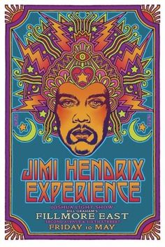 Jimi Hendrix Experience at the Fillmore East