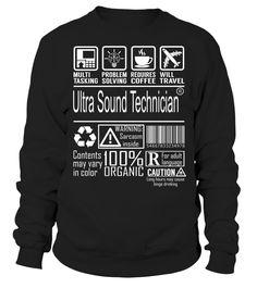 Ultra Sound Technician Multitasking Job Title T-Shirt #UltraSoundTechnician