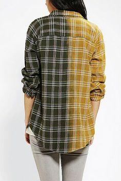 Urban Renewal 50/50 Boyfriend Flannel Shirt