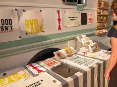 Renegade Craft Fair Chicago Type Truck by Hieng Tang, via Flickr