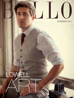 Chris Lowell para BELLO Magazine
