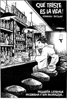 RIP 'alternative' manga pioneer Yoshihiro Tatsumi (June 10, 1935 - March 7, 2015)