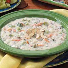 Broccoli Wild Rice Soup - very good!