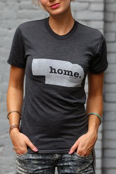 Nebraska Home T-Shirt on Etsy, $20.00...have this shirt and love it! buying another