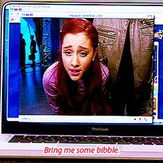 Cat Valentine and her Bibble what does bibble look like - Google Search