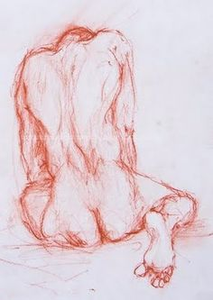 Author : Anónimo de la Piedra.Male Nude. Drawing & Drawingcolor http://anonimodelapiedra.blogspot.com.es/