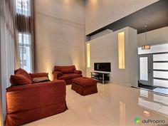 Maison à vendre Blainville, 88, rue Paul Albert, immobilier Québec | DuProprio | 490666 Rue, Couch, Furniture, Home Decor, Real Estate, Room, Settee, Decoration Home, Sofa